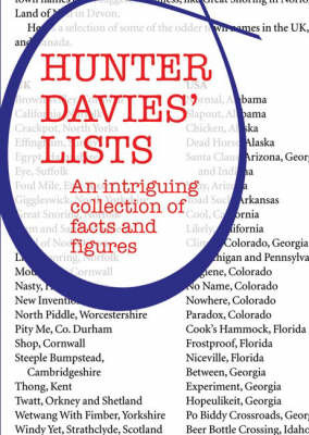 Hunter Davies' Lists: An Intriguing Collection of Facts and Figures by Hunter Davies image