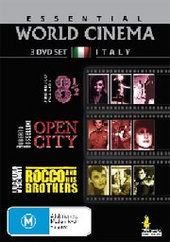 Essential World Cinema - Italy (3 Disc Set) on DVD