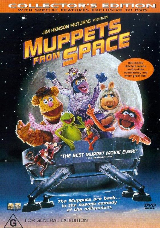 Muppets From Space on DVD