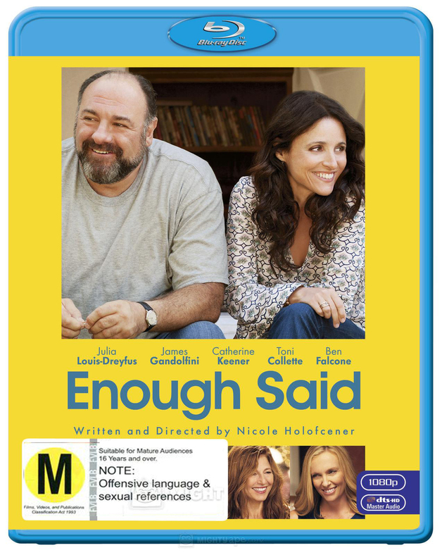Enough Said on Blu-ray