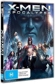 X-Men Apocalypse on DVD image