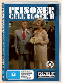 Prisoner Cell Block H: Vol. 37 - Episodes 601 -624 (6 Disc Set) on DVD image