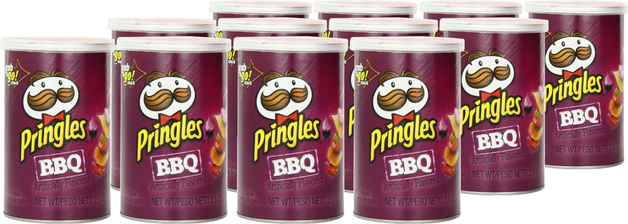 Pringles Grab & Go Small Barbecue 40g 12 pack