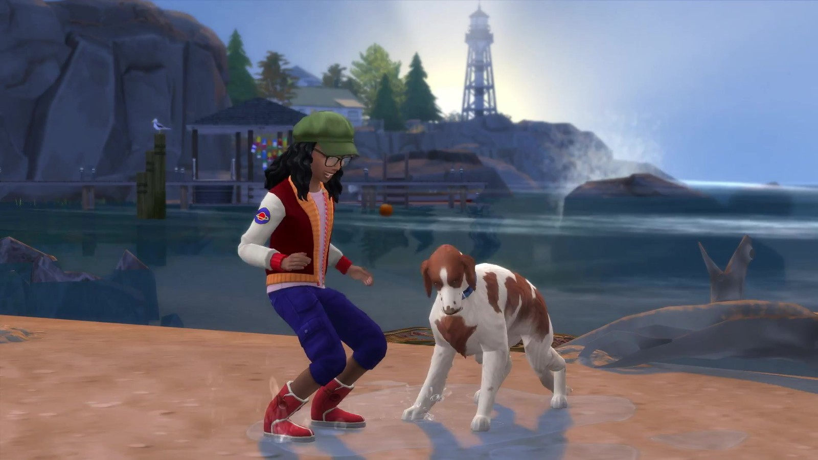 The Sims 4 plus Cats & Dogs Bundle for PS4 image