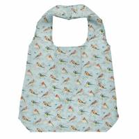 Garden Birds Foldable Shopping Bag