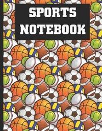 Sports Notebook by Jotter Notebook