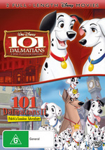 101 Dalmatians (1961) - Platinum Edition / 101 Dalmatians II - Patch's London Adventure (3 Disc Set) on DVD
