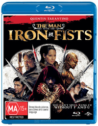The Man with the Iron Fists on Blu-ray
