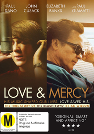 Love & Mercy on DVD