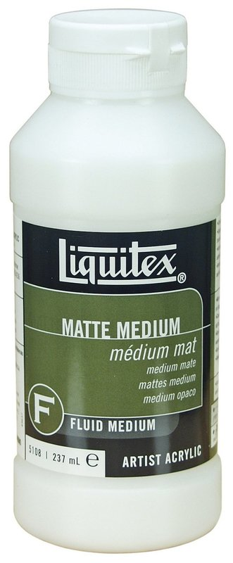 Liquitex: Matte Fluid - Medium (237ml)