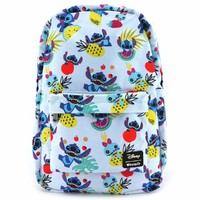 Loungefly Disney Stitch Pineapple AOP Backpack