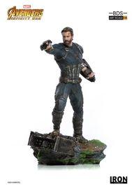 Avengers: Infinity War - 1/10 Captain America - Battle Diorama Statue