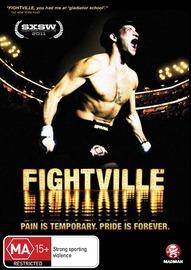 Fightville on DVD