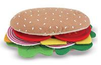 Melissa & Doug: Felt Play Food Sandwich Set