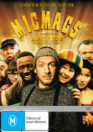 Micmacs on DVD image