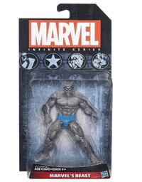 Marvel Infinite Action Figure Grey Beast 3.75""