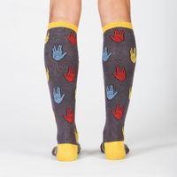 Women's - Salutations Knee High Socks image