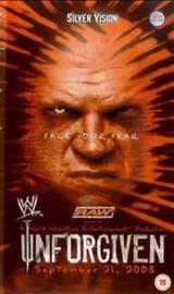 WWE - Unforgiven 2003 on DVD