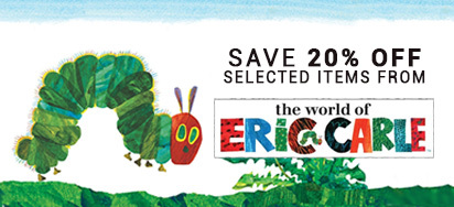 20% off select Eric Carle!