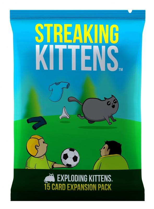 Exploding Kittens: Streaking Kittens - Expansion Pack