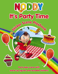 It's Party Time: Sticker Scene Playbook: Sticker Scene Playbook by Enid Blyton image