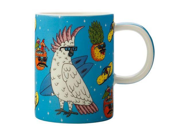 Maxwell & Williams: Mulga the Artist Mug Cockatoo