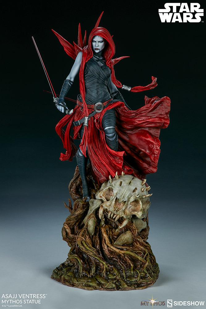 "Star Wars: Asajj Ventress - 23"" Mythos Statue image"