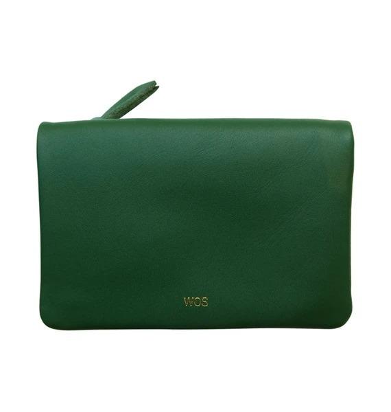 Wos: Small Sensation Wallet - Green