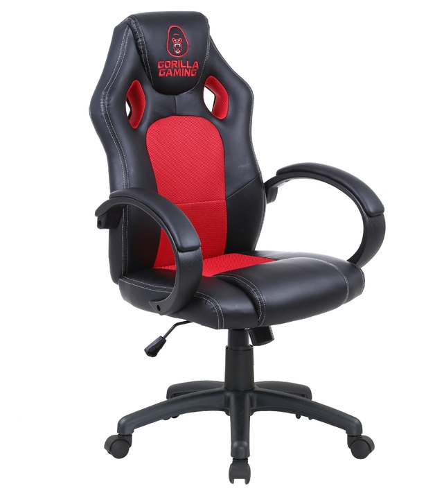 Gorilla Gaming Chair - Red & Black for