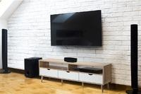 Shangri-La: White & Oak TV Entertainment Unit - Nyhavn Collection