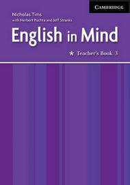 English in Mind 3 Teacher's Book by Nicholas Tims image
