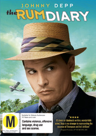 The Rum Diary on DVD