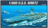 Academy USS CVN-68 Nimitz 1/800 Model Kit