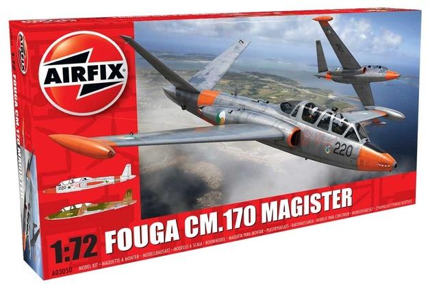 Airfix Fouga CM.170 Magister 1:72 Model Kit
