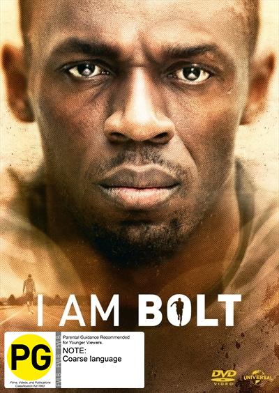 I Am Bolt on DVD