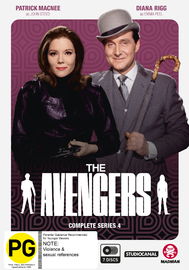 The Avengers - Complete Series 4 on DVD
