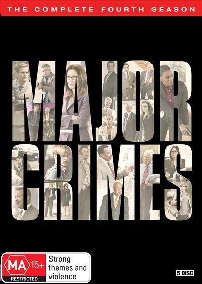 Major Crimes - The Complete Fourth Season on DVD