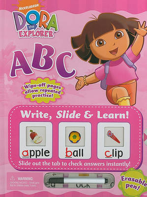 Write, Slide & Learn! Dora the Explorer ABC image