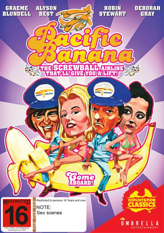 Pacific Banana on DVD
