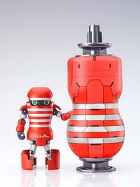 TENGA Robot with Mega TENGA Beam Set - Articulated Figure