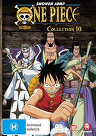 One Piece (Uncut) Collection 10 (2 Disc Set) on DVD