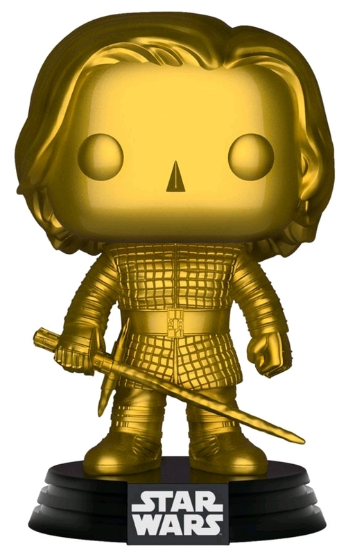 Star Wars - Kylo Ren (Gold Metallic) Pop! Vinyl Figure