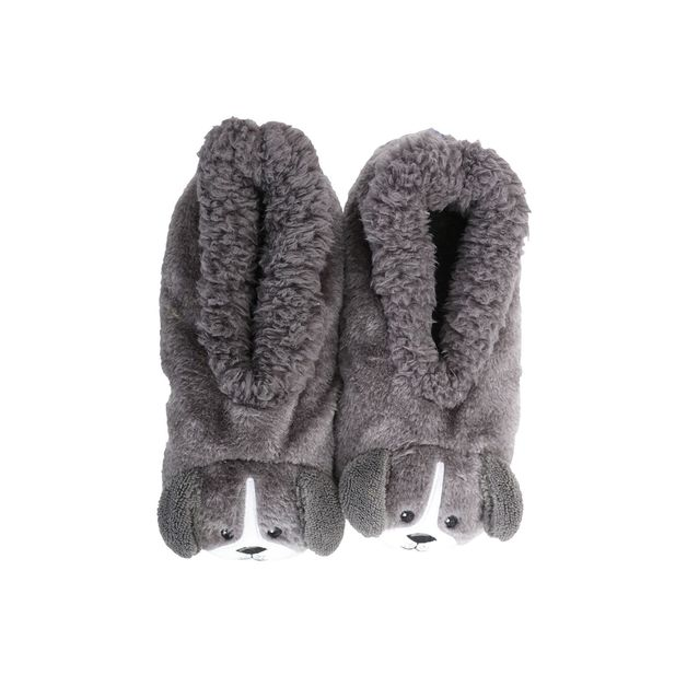 Slumbies: Dog Furry Critters - Kids Slippers (Medium)