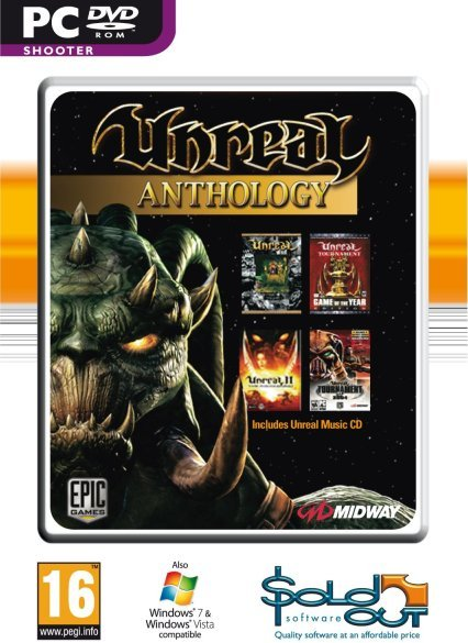 Unreal Anthology (Gamer's Choice) for PC Games image