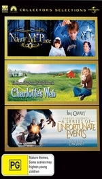 Nanny McPhee / Charlotte's Web (2006) / Lemony Snicket's A Series Of Unfortunate Events - (3 Disc Set)  on DVD