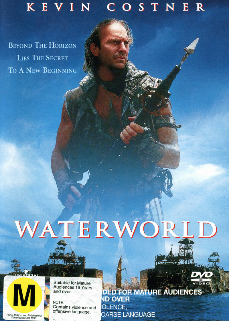 Waterworld on DVD image