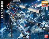 MG Gundam RX-78-2 Ver.3.0 1/100 Model Kit image