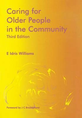 Caring for Older People in the Community by E.Idris Williams image