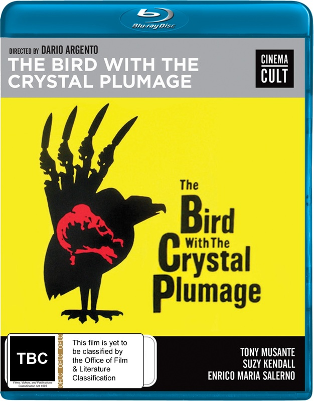 The Bird With The Crystal Plumage on Blu-ray