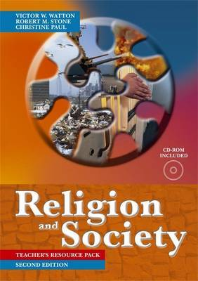 Religion and Society: Teacher Pack by Bob Stone image